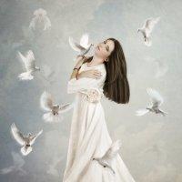 Белые голуби :: Маргарита Нижарадзе
