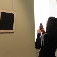 "Три взгляда на ""Чёрный квадрат""  1 :: Вера Моисеева"