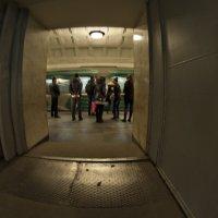 Сон мне приснился-  будто я в метро на красной ветке :: Ирина Данилова