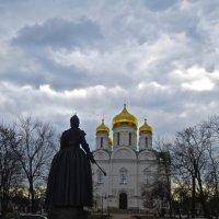 Екатерининский собор и Екатерина :: Елена