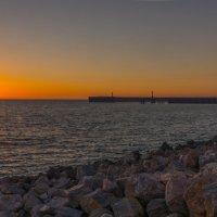 закат на круглом берегу :: Svetlana AS