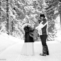 Свадьба в Полазне зимой :: Виталий Гребенников