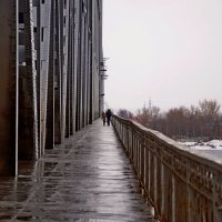 на мосту... :: Елена Третьякова