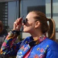 Наблюдаю затмение) :: Катерина Аксенова