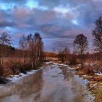 ледяная река :: Ольга Cоломатина