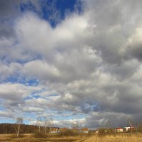 IMG_4716 - Апрельское небо :: Андрей Лукьянов