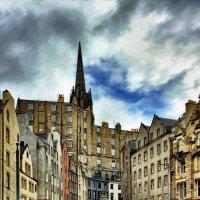 Улица Эдинбурга,ведущая в Эдинбургскую крепость :: Free