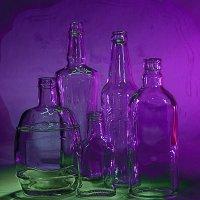 Натюрморт с бутылками :: Игорь Чубаров