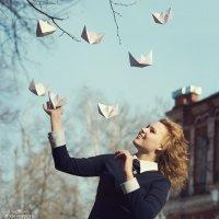 Девочка с корабликами :: Юлия Фурсова