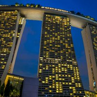 Marina Bay Sands. Singapore :: Евгений Банных