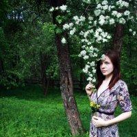 Девушка-весна :: Юлия Гетманская
