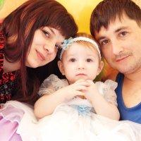 Счастливая молодая семья:) :: Елена Лебедева