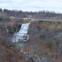 Водопад Albion Falls. Окресности г. Гамильтон (Канада) :: Юрий Поляков