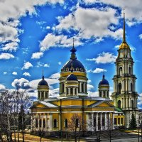 Спасо-Преображенский собор в Рыбинске :: Алексей Дмитриев
