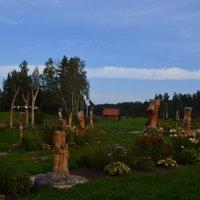 Парк деревянных скульптур. :: zoja