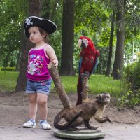 принцесса  пиратов :: Мария Тарасевич