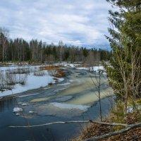 Апрель - время ледохода на реках... :: Федор Кованский