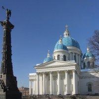 Троице-Измайловский собор и колонна Славы :: Вера Моисеева