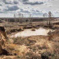Водная эрозия почвы :: Александр Никишков