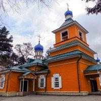 Михаило - Архангельская Харлампиевская церковь 1738г. Иркутск. :: Rafael