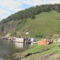 река Мана - от п.Береть сплавом до п.Усть-Мана :: Владимир Звягин