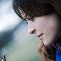 в темно-синем лесу (пленер) (2) :: елена брюханова