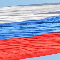 Огромный флаг России под вертолётом (Коломна) :: NICKIII Михаил Г.