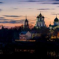 Псков. Вид от Гремячей башни. :: Майя Афзаал