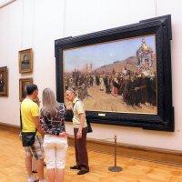 В залах Третьяковской галереи. :: Елена