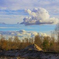 Облако весной.. :: Юрий Стародубцев