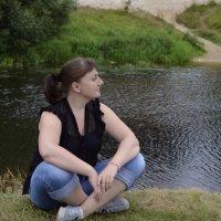 Река Луга :: Анастасия Сидорова