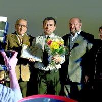 Награда ГРАН-ПРИ на фестивале фильмов в Архангельске (2014 г.) :: Валентин Кузьмин