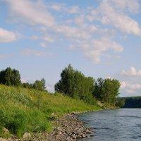 У реки :: Евгения Каравашкина