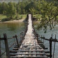 Мостик через реку Чулышман :: Наталия Григорьева