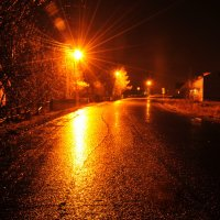 Село в ночи :: Екатерина Валейская