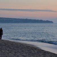 утро на пляже :: Андрей Земcкий