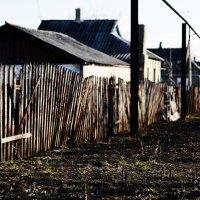Старый забор :: Михаил Михайлов