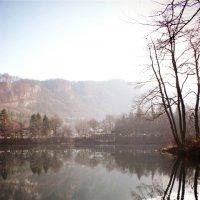 Голубое озеро :: Татьяна Гаврилова