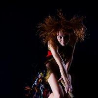 Я была на веселе и летала на метле... :: Низами Софиев