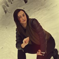 Зимняя фотосессия :: Даша Пичугина
