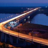 Хабаровск. Мостовой переход через р.Амур :: Сергей Балдин
