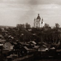 Церковь на холме :: Александр Крупин