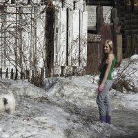 Сибирячка с собачкой :: Сергей Яценко