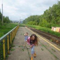 у железной дороги :: алла поздеева