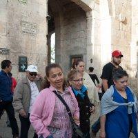Туристы в Иерусалиме :: susanna vasershtein