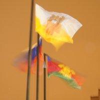 Флаги на ветру :: Александр Леонов