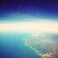 Black sea/ The view from a plane :: Katerina Ilina