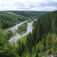 Река Койва :: Сергей Комков