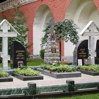 Они вернулись: Донской монастырь. Могилы А. Деникина, В. Каппеля, И. Ильина. :: Михаил Малец