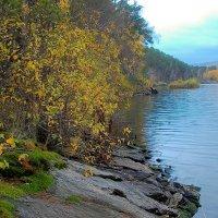 Осень на озере Сунгуль :: Стил Франс